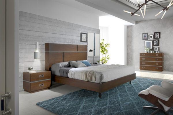 dormitorio con bancada