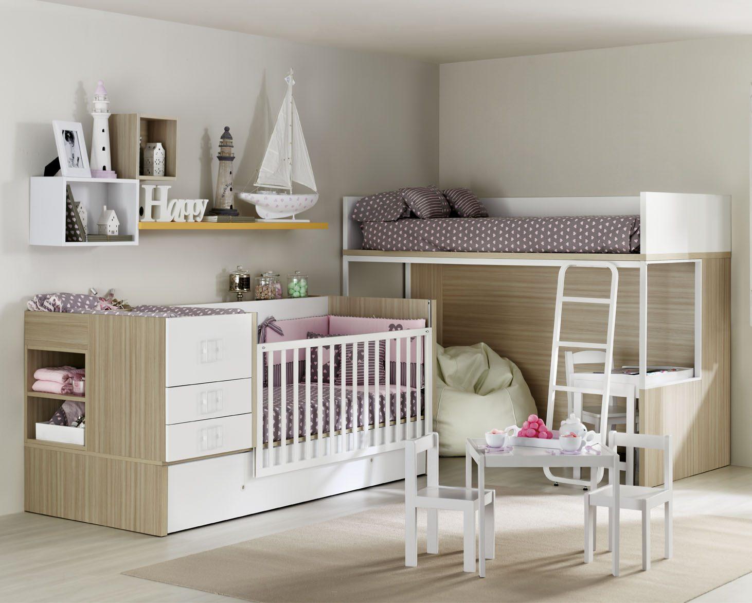 Dormitorio infantil touch mobiliario hd for Mueble juvenil diseno
