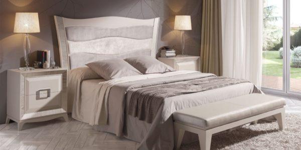 dormitorio eolo cabezal tapizado combinado arena con cava