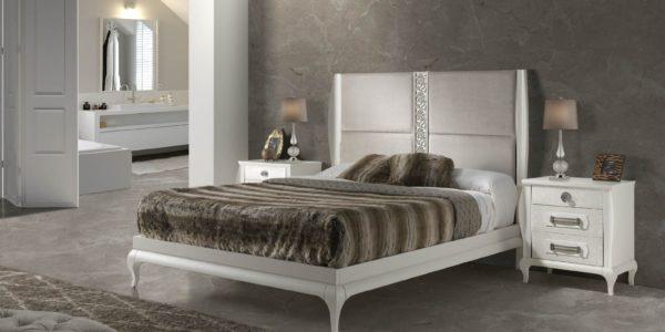 dormitorio icaro blanco frentes texturados nacar