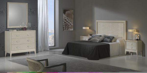 dormitorio siena  detalle cabecero rombos