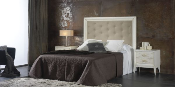 dormitorio siena cabecero tapizado capitoné