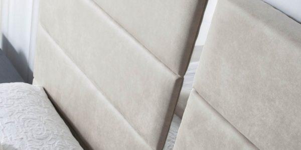 detalle cabecero tapizado