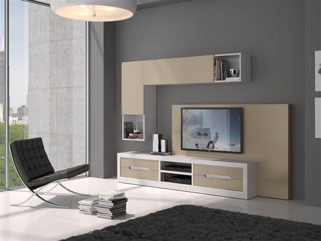 Como escoger los colores para pintar la habitaci n - Muebles de salon lacados en blanco ...