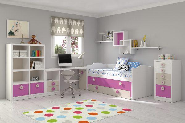 Mueble juvenil e infantil archivos mobiliario hd for Muebles dormitorio infantil juvenil