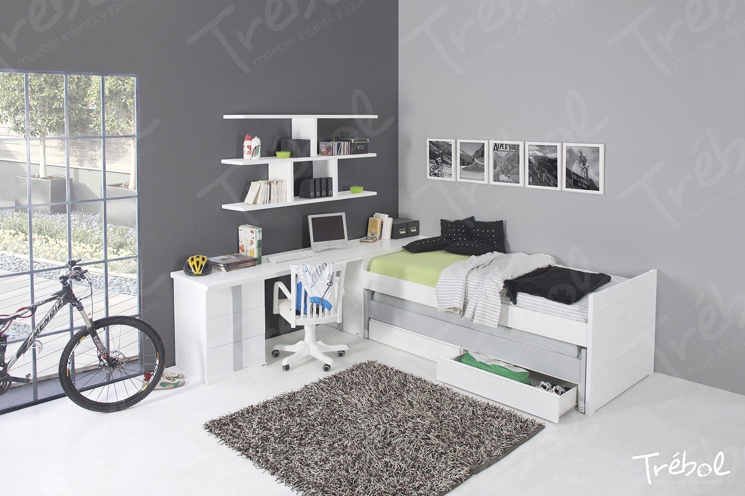 Dormitorio juvenil urban mobiliario hd for Mobiliario dormitorio juvenil
