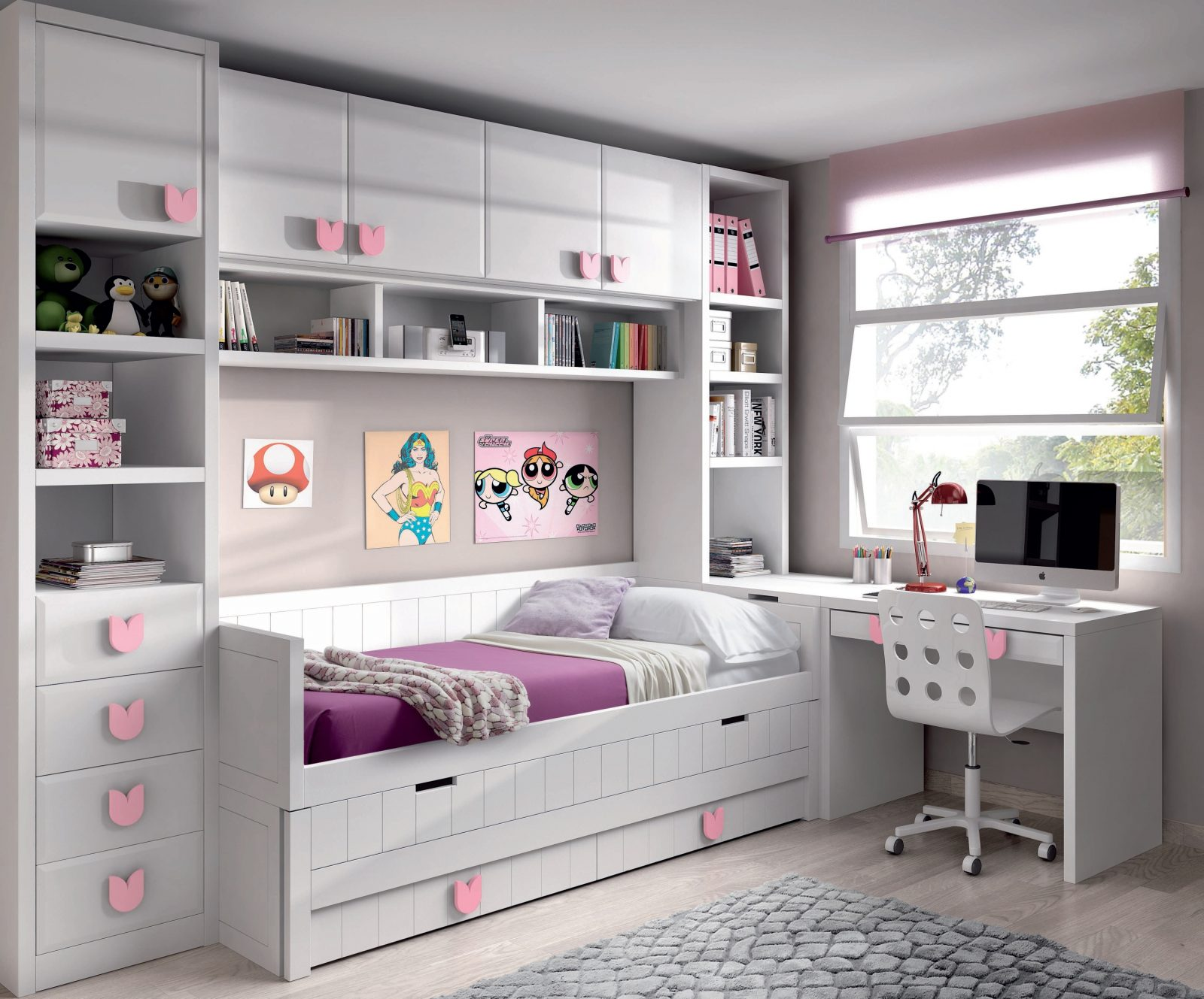 Decoracion mueble sofa habitacion juvenil diseno mueble - Mueble juvenil diseno ...