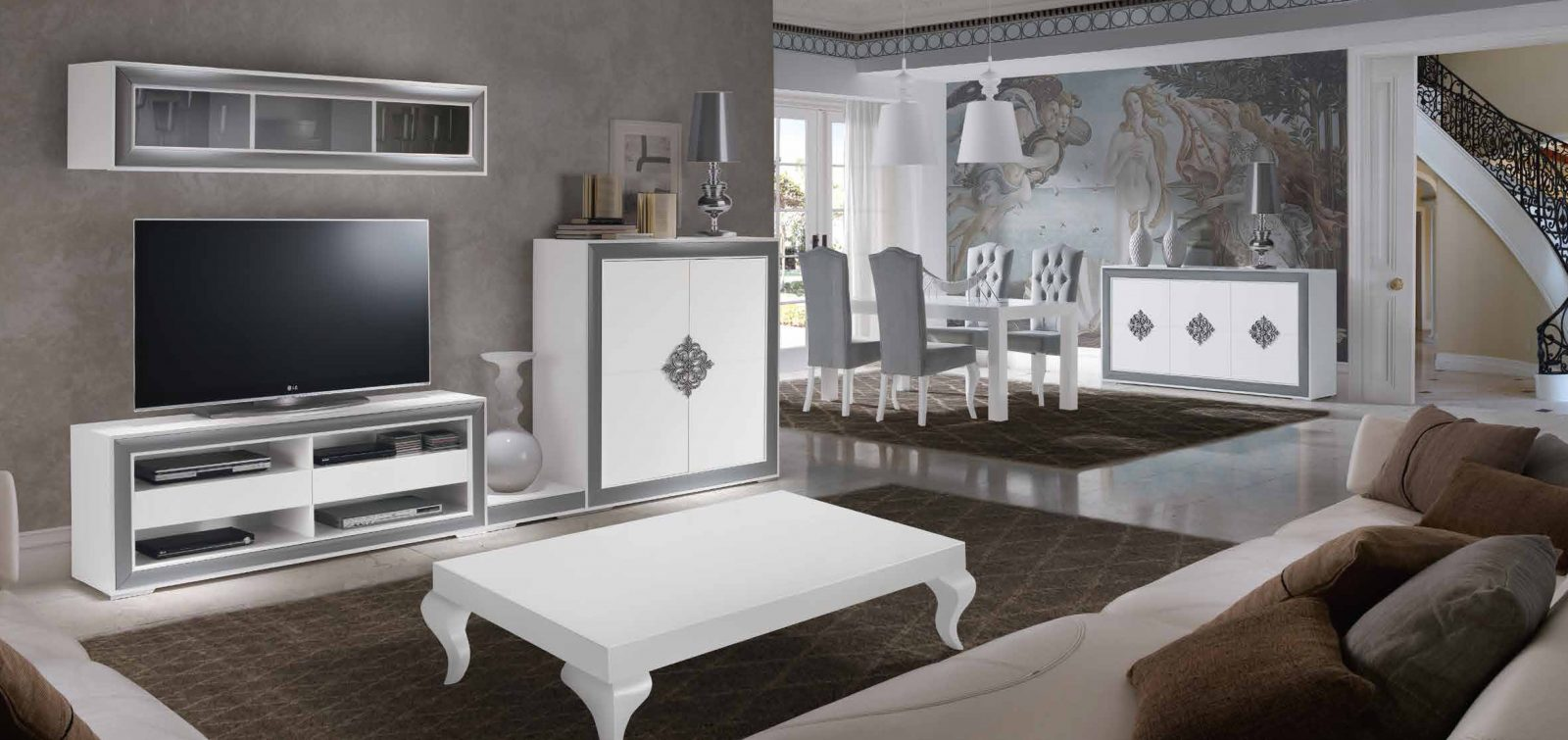 Salon Comedor Venecia Mobiliario Hd # Muebles Hukam Venecia