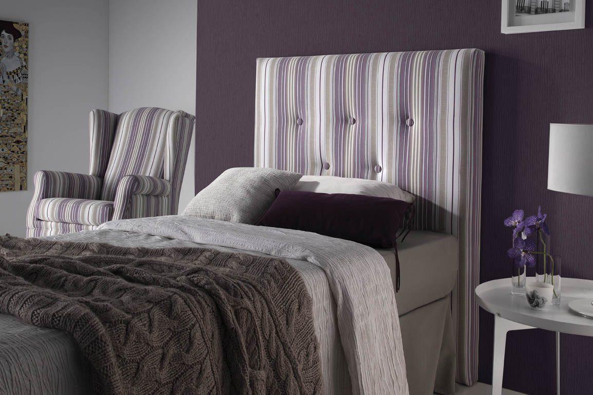 Cabeceros tapizados mobiliario hd for Cabeceros tapizados fotos