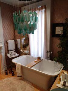 bañera glamour