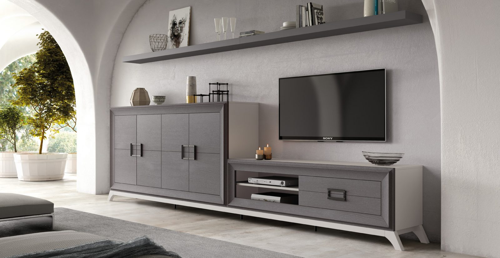 Salón Modular L-Gant - Mobiliario HD