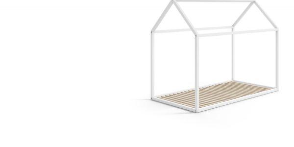 estructura casita nido blanca