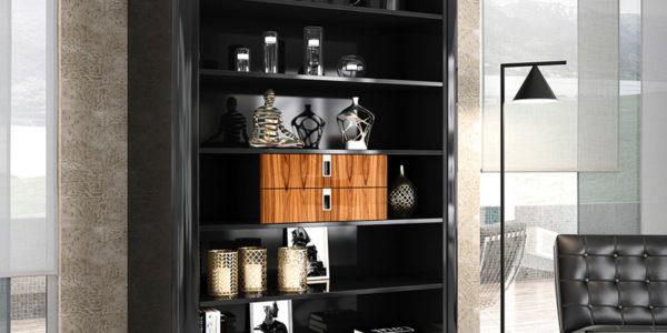 salon comedor ambito libreria palisandro
